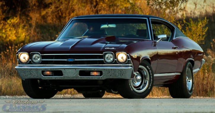 restored 1969 chevy chevelle 350 v8