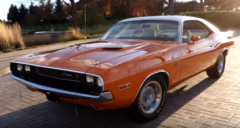 matching numbers 1970 dodge challenger r/t restoration