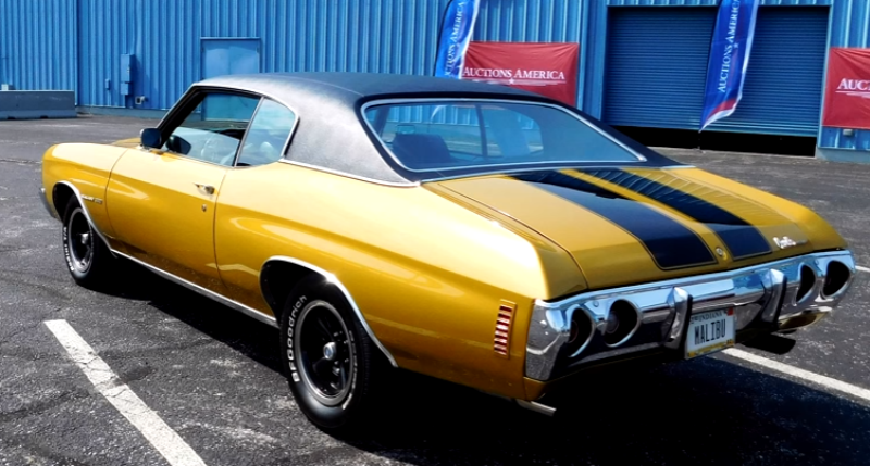 restored 1972 chevrolet malibu video