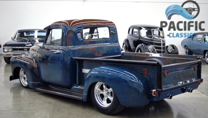 custom built 1951 chevrolet 3100 truck 350 v8 automatic