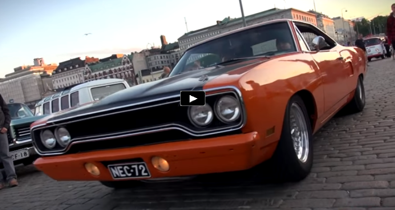 custom built plymouth road runner video