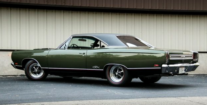 1969 plymouth gtx 440 super commando 3-speed