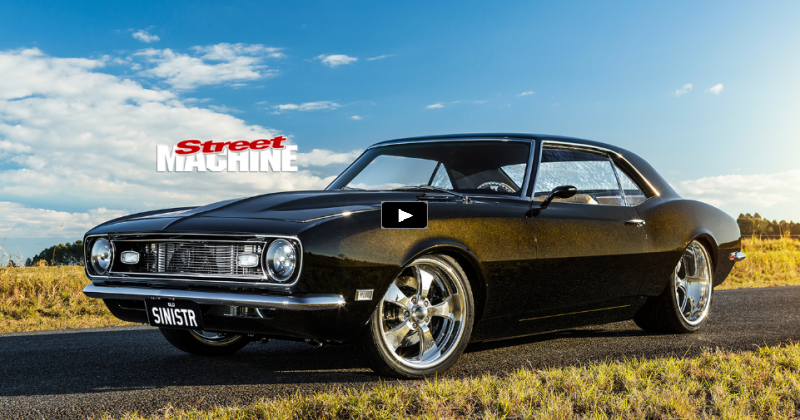 1500hp Twin Turbo 1968 Chevrolet Camaro Quot Sinistr Quot Hot Cars
