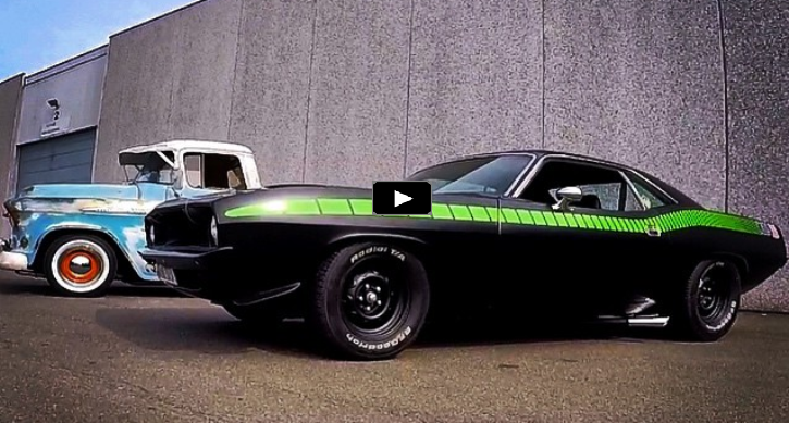 custom built big block 1972 plymouth cuda