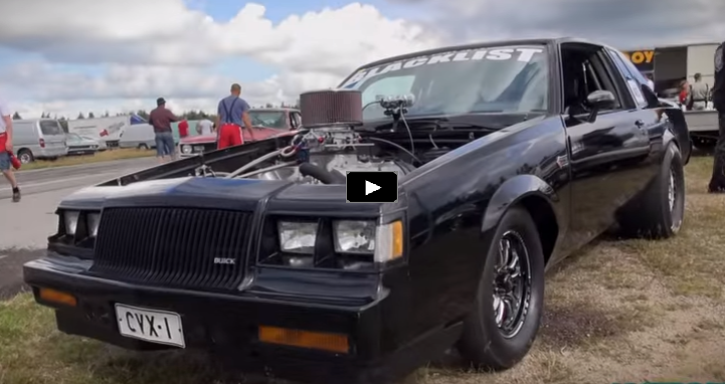 big block buick grand national drag racing