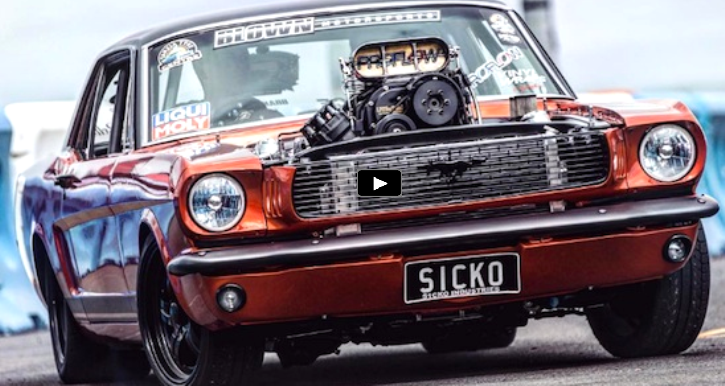 modified 1966 ford mustang sicko video