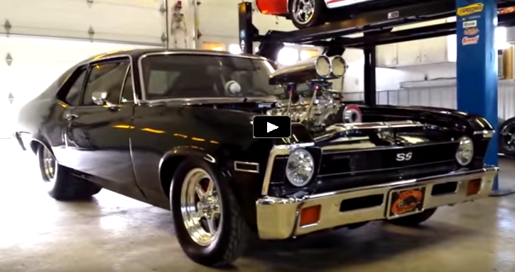 pro street chevrolet nova super sport video