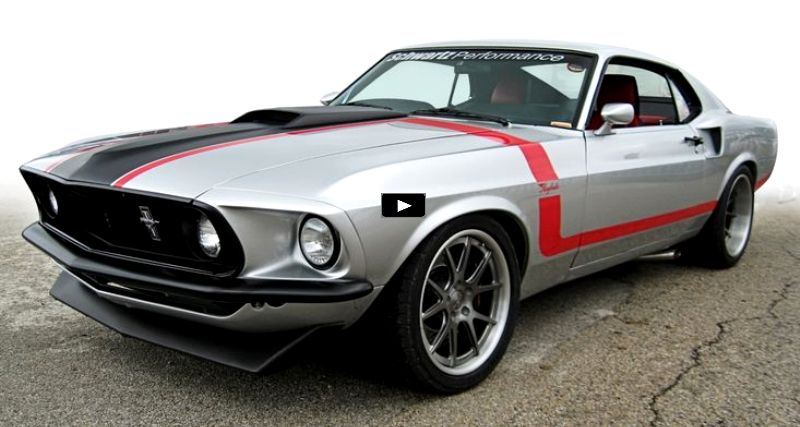 1969 Mustang Restomod By Schwartz Performance Hot Cars