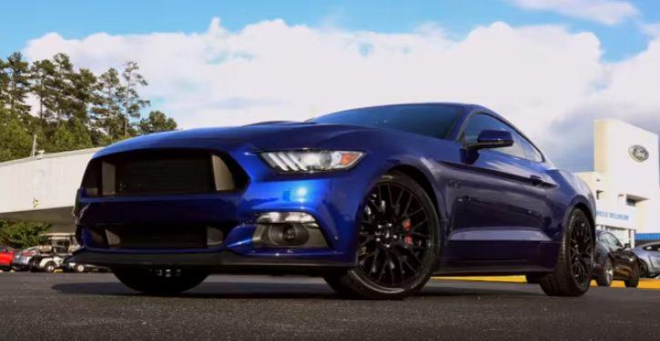 modified 2016 ford mustang gt sleeper review