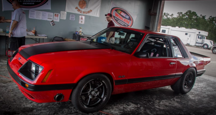 modzilla fox body mustang coyote swap