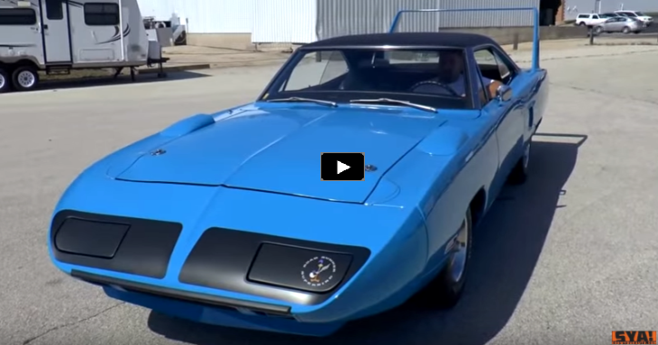 test driving original 1970 plymouth superbird 440