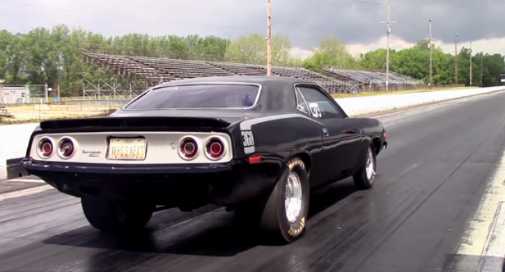 promod blown plymouth cuda 526 hemi