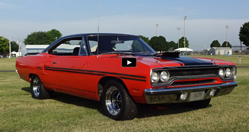 restored 1970 plymouth gtx 440 six barrel