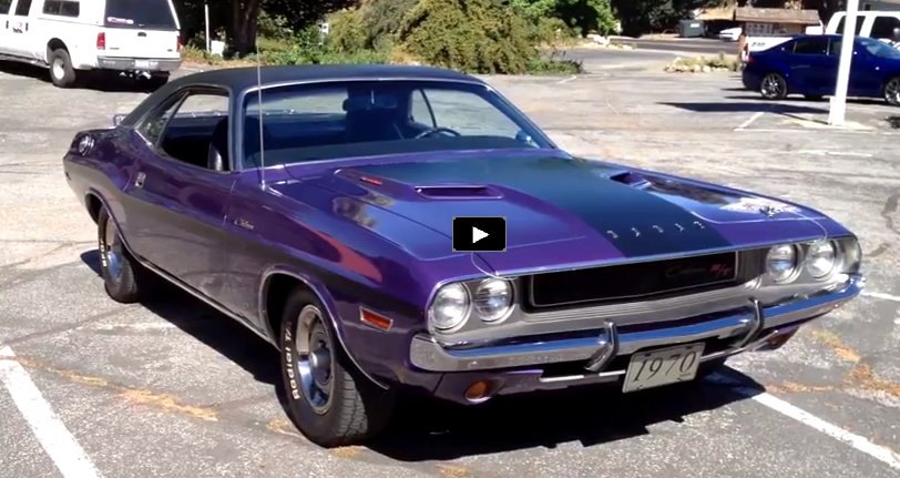 plum crazy purple 1970 dodge challenger rt 340 v8