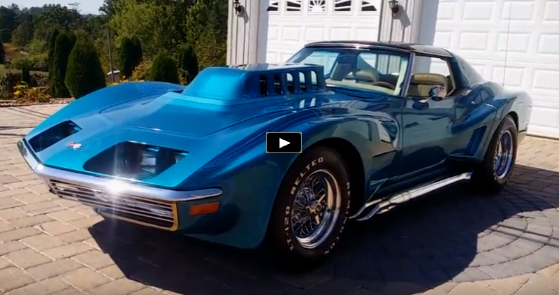 1972 chevrolet corvette show car