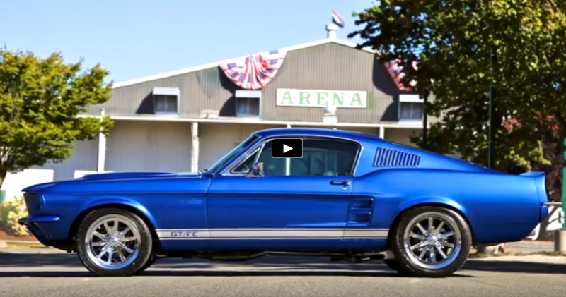 original 1967 ford mustang gt390 restoration