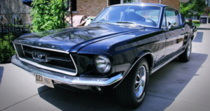 true 1967 ford mustang c-code