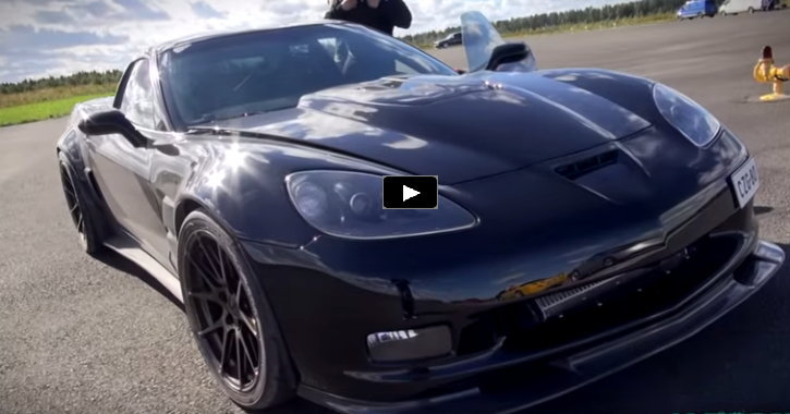 200mph twin turbocharged chevrolet corvette c6