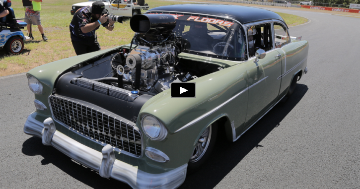 blown 1955 chevy callout