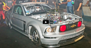 nitrous mustang crazy horse drag racing at king of the streets