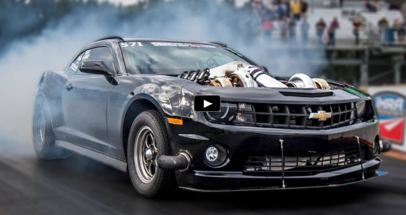 twin turbo camaro drag week super street class
