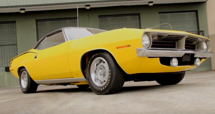 hemi powered 1970 plymouth cuda collector car