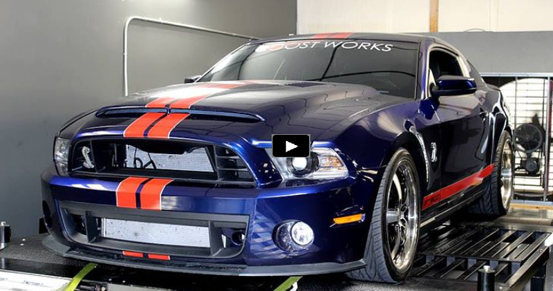 Sick 2012 Mustang Shelby GT500 Pushes Over 1200hp | HOT CARS
