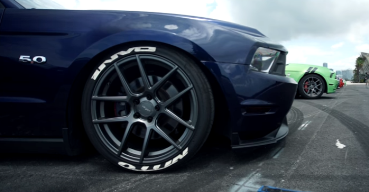 customized modern mustangs velgen wheels video