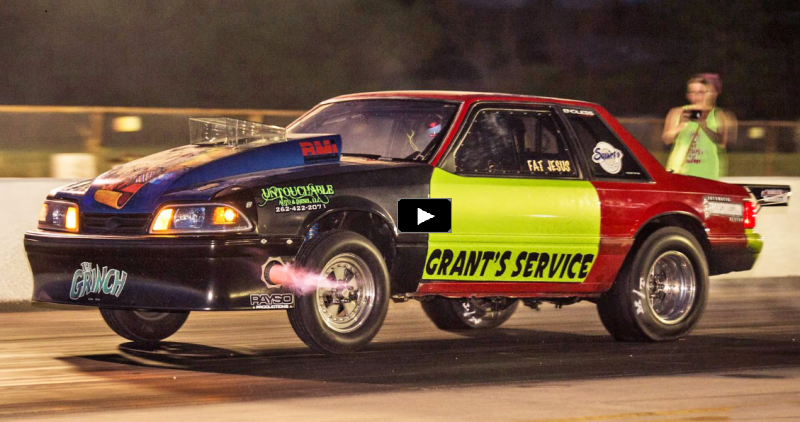 the grinch fox body mustang wins gangster class