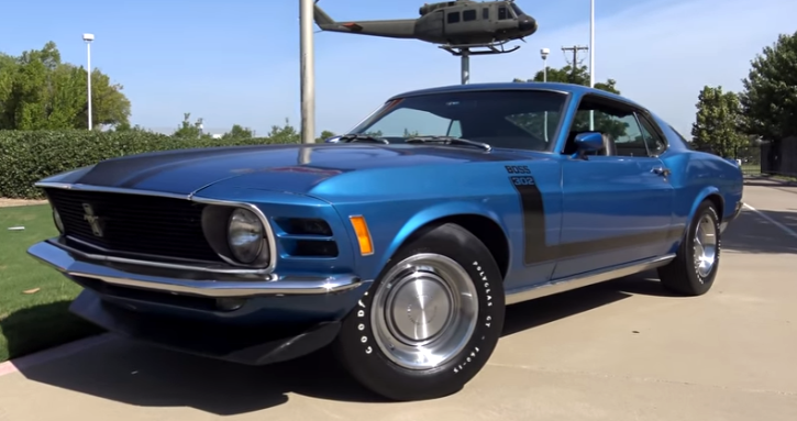1970 ford mustang boss 302 collector car