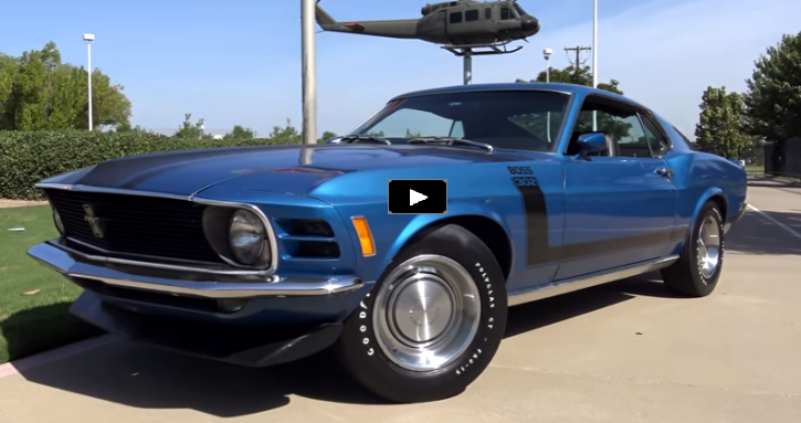 1970 ford mustang boss 302 survivor