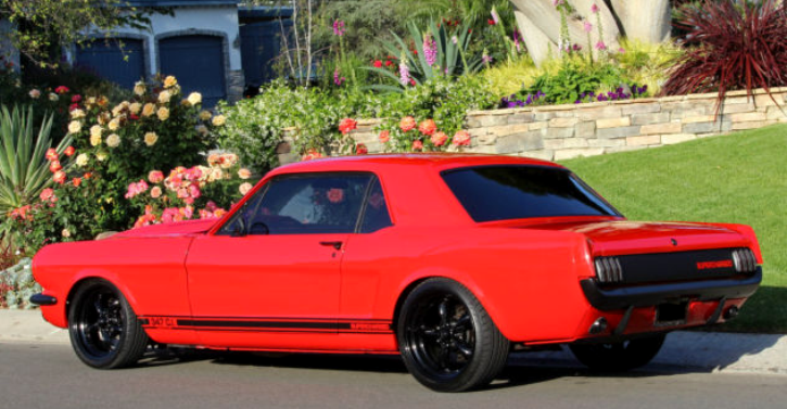 Supercharged Custom 1966 Ford Mustang 347 | Video | HOT CARS