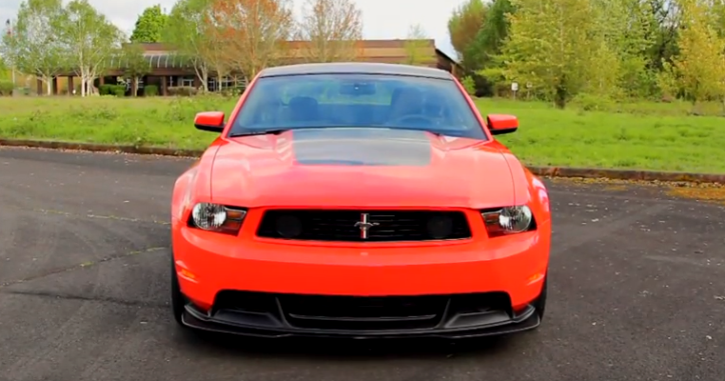 2012 mustang boss 302 tooling tryout