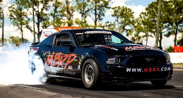 street outlaws kayla morton procharged ford mustang