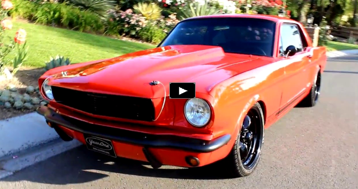 supercharged 1966 mustang 347 stroker 5-speed