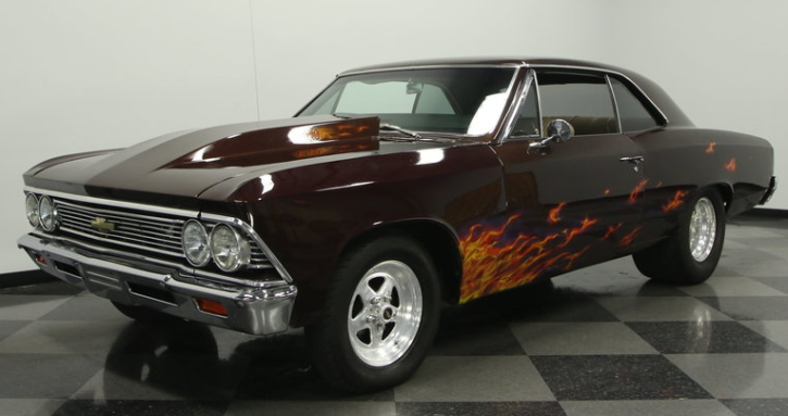 custom built 1966 chevrolet chevelle