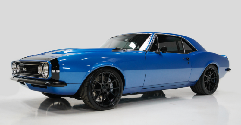1967 chevrolet camaro pro touring build
