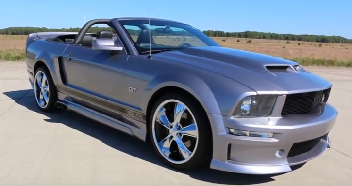 convertible 2005 mustang cervini c300 edition video review