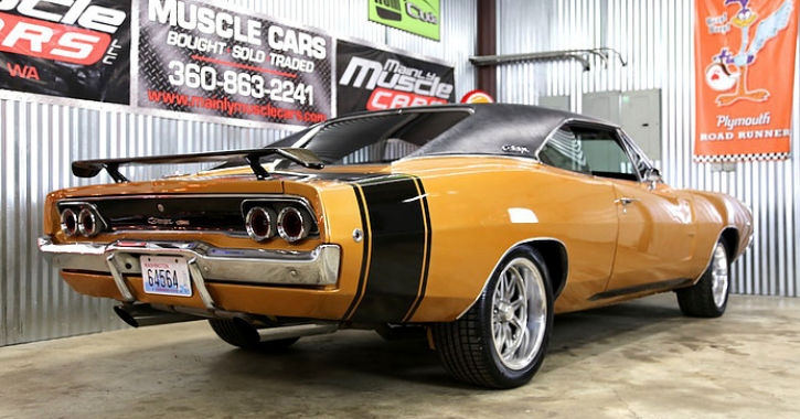 1968 dodge charger 383 4-speed review