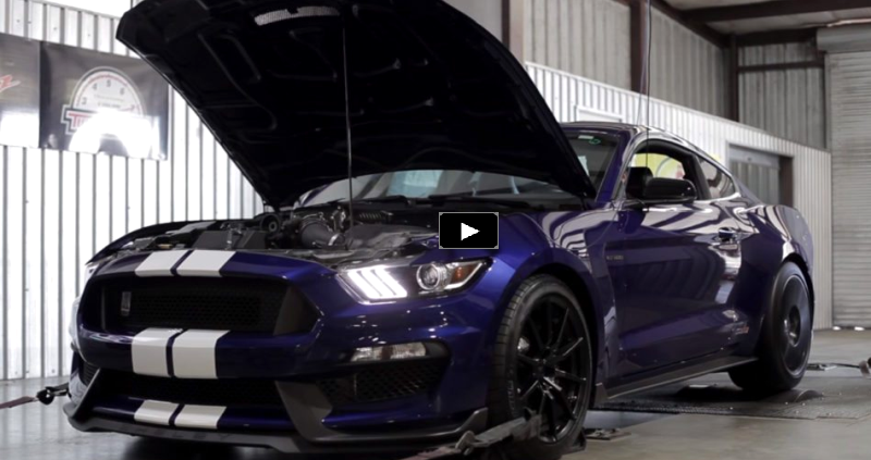 2016 hennessey mustang shelby gt350 dyno test