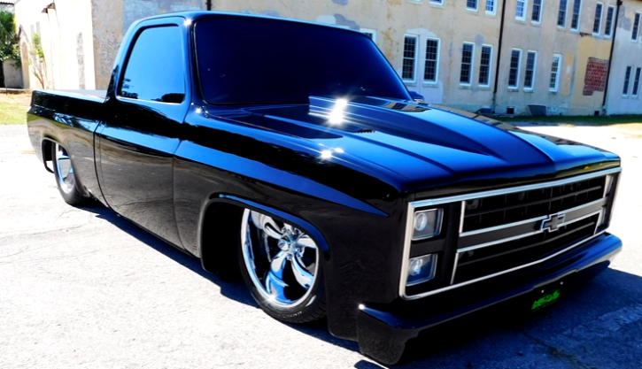 Killer 1985 Chevy C10 Truck by the Metal Brothers | HOT CARS