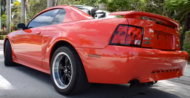kenne bell supercharged red 2002 ford mustang gt video