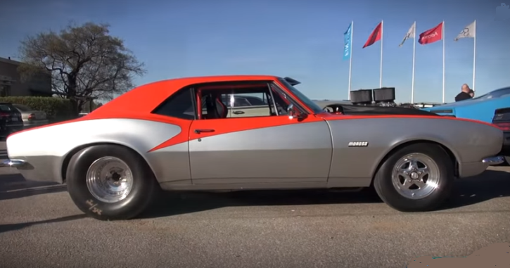 modified 1967 chevy camaro big block