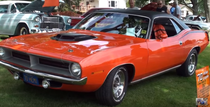 all original 1970 plymouth hemi cuda