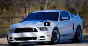 turbocharged mustang gt drag racing