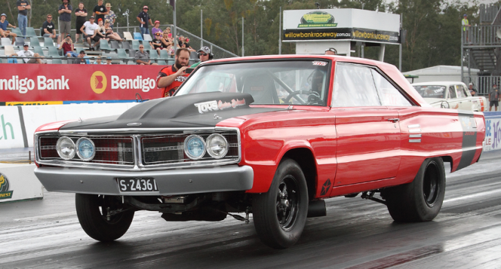 turbo big block 1966 dodge coronet drag racing