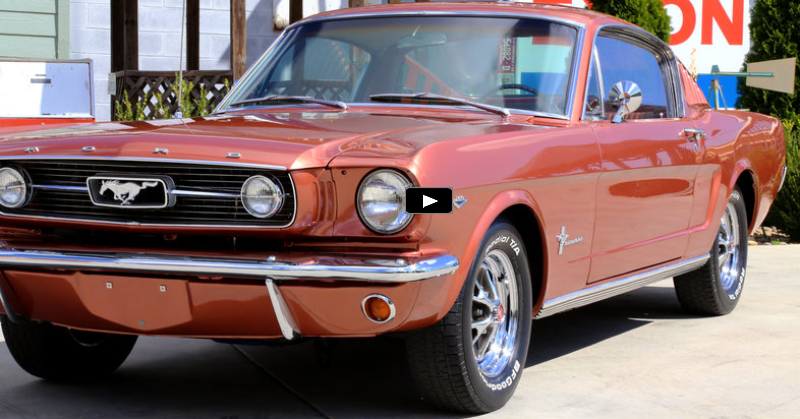emberglo 1966 ford mustang