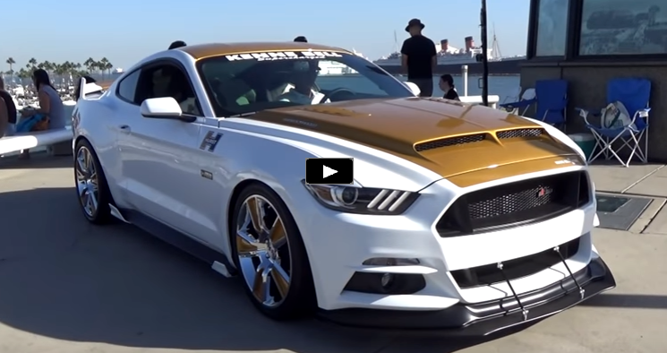 Kenne Bell Hurst Mustang S550 R Code Video Review Hot Cars