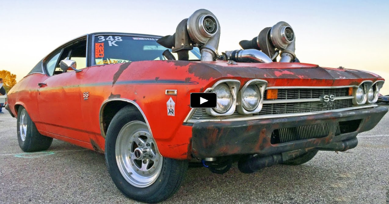 twin turbo chevy chevelle drag week 2016