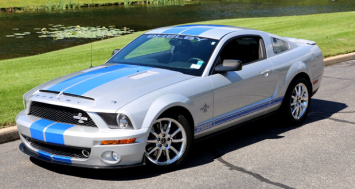 2008 mustang shelby gt500kr for sale